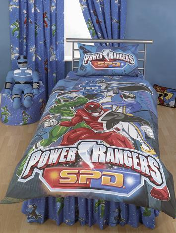 Power Rangers Duvet Cover And Pillow Case