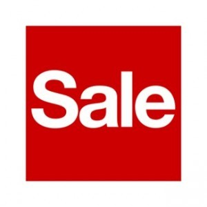 Sales galore!