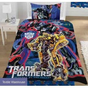 Transformers Duvet Cover Revenge Of The Fallen