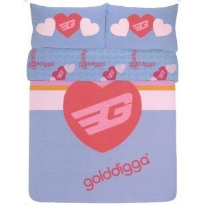 Golddigga Duvet Cover Set